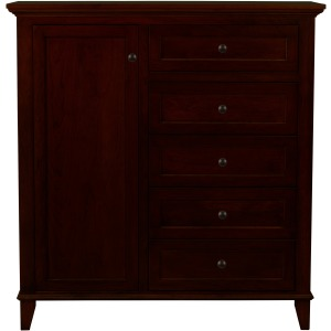 Brentwood 5 Drawer Chest - Sunset