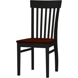 Arlington Venice Side Chair -  Auburn/Onyx