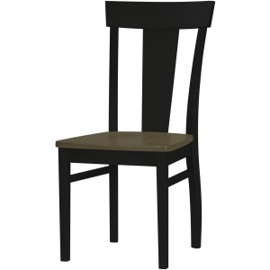 Arlington Laker Side Chair -  Driftwood/Onyx