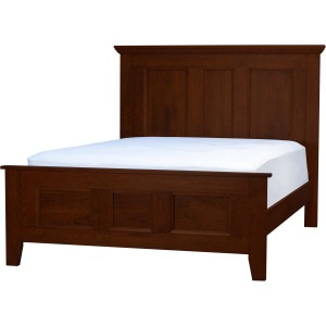 Brentwood Queen Bed - Walnut