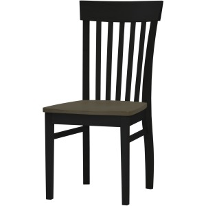 Arlington Venice Side Chair -  Driftwood/Onyx