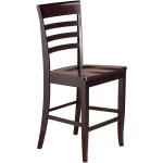Burbank Counter Chair - Wood Seat