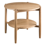 """Matia 30"""" Round End Table"""