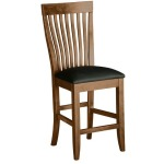Monterey Counter Chair w/Leather Seat