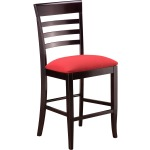 Burbank Counter Chair w/ Fabric Seat