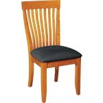 Monterey Side Chair w/ Fabric Seat