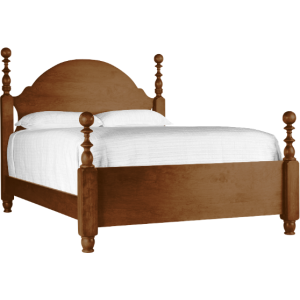 St Lawrence Cannon Ball Queen Bed