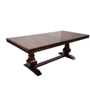 "Palisade 72"" Double Pedestal Table"