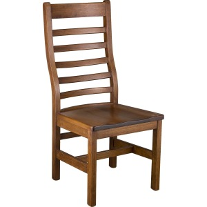 Lorre Side Chair w/ Wood Seat