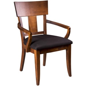 Thea Arm Chair w/ Fabric Seat