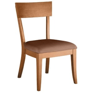 Bella Side chair w/ Leather Seat