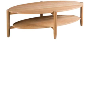 Matia Oval Cocktail Table