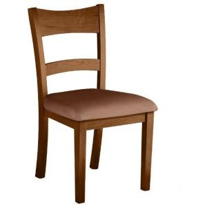 Emmitt Side Chair w/ Leather Seat