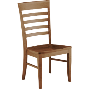 Burbank Side Chair - Wood Seat