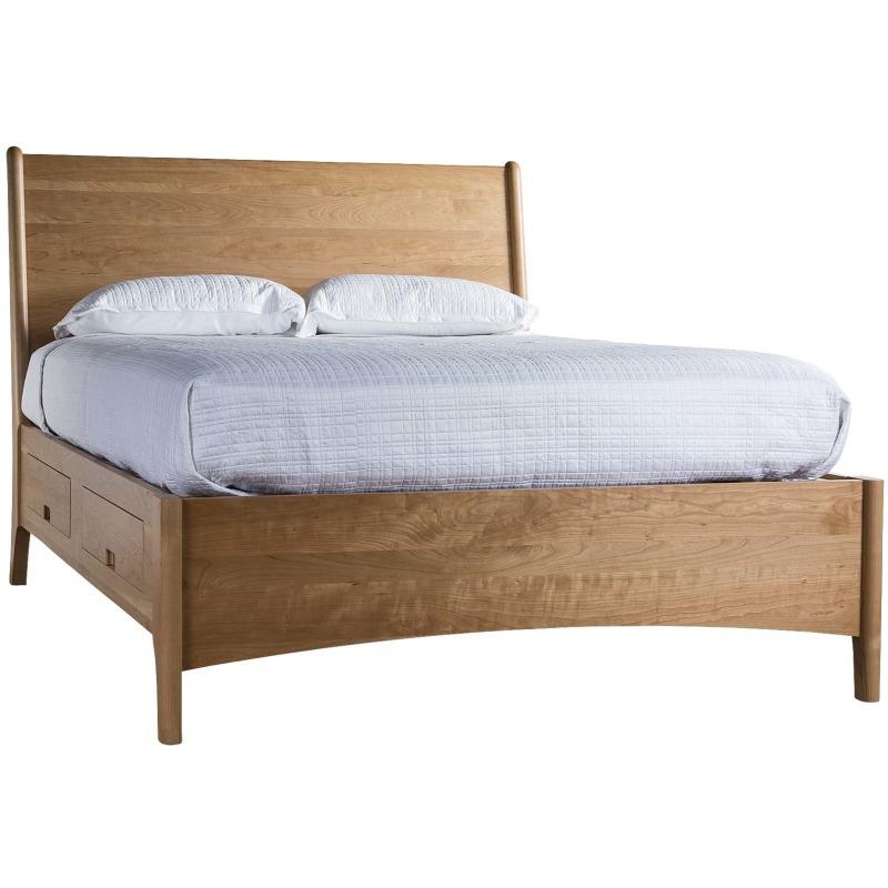 Brancusi Sleigh Storage Bed - Queen Main Image