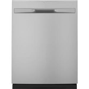 Hybrid Stainless Steel Interior Dishwasher with Hidden Controls