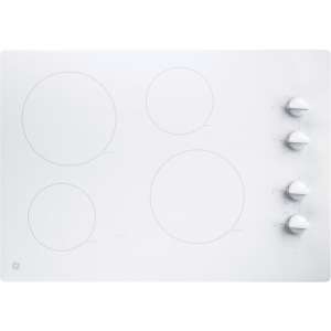 """30"""" Built-In Knob Control Electric Cooktop"""