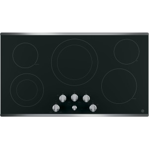 "36"" Built-In Knob Control Electric Cooktop"