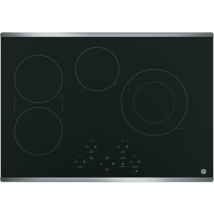 "30"" Built-In Touch Control Electric Cooktop"