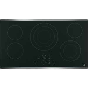 "36"" Built-In Touch Control Electric Cooktop"