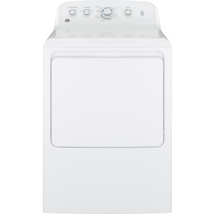 6.2 cu. ft. Capacity aluminized alloy drum Electric Dryer