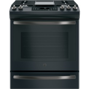"30"" Slide-In Front Control Convection Gas Range"