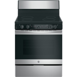 "GE 30"" Free-standing Electric Radiant Smooth Cooktop Range"