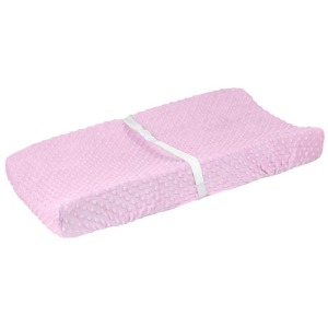 Girls Pink Changing Pad Cover