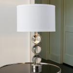 Crystal Ball Lamp-Nickel
