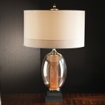 Illuminated Oval Lamp