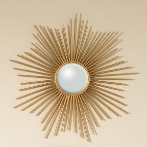 Mini Sunburst Mirror-Gold