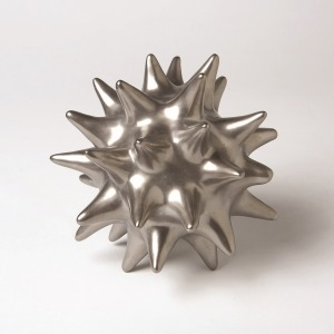 Urchin-Matte Silver-Lg