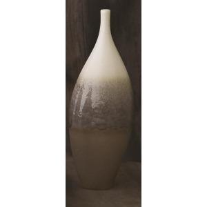 Cream Rises Vase-Tall-Sm