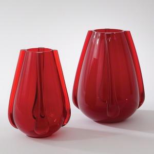 Venus Vase-Ruby-Lg
