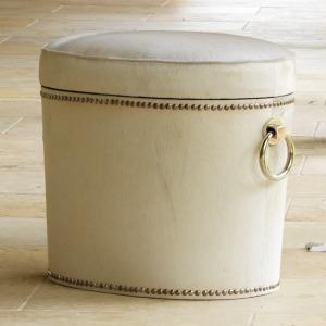 Challis Cowhide Ring Bench