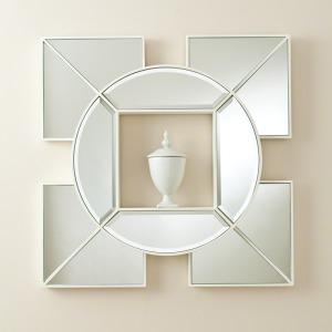 Arabesque Shadow Box Mirror-White