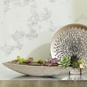 Organic Lace Bowl-Silver
