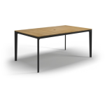 Carver Dining Table - Meteor & Teak