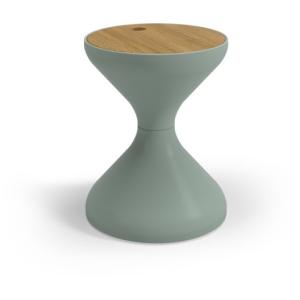 Bells Side Table - Teak & Sage