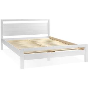 Loft Queen Platform Bed - Brushed White