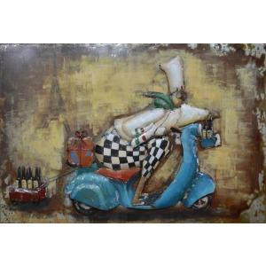 Chef I 24×35 Metal Art