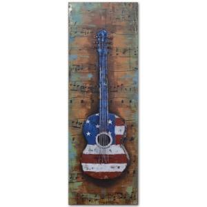 Acoustic US 16×47 Metal Art