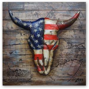 American Steer 31×31 Metal