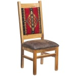 Catskill Side Chair w/Upholstered Back & Seat