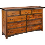 Mossy Oak Natchez Trace 9 Drawer Dresser
