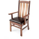 Ashcroft Arm Chair w/Leather Seat