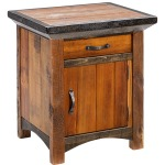 Mossy Oak Natchez Trace 1 Door Nightstand - Hinged Right