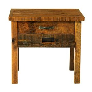 WESTERN TRADITIONS – ELITE 1 DRAWER NIGHTSTAND