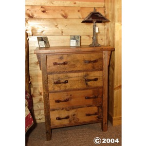 Stony Brooke 4 Drawer Upright Dresser
