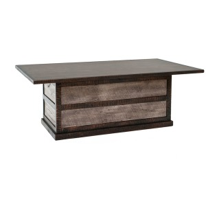 URBAN GRAPHITE PANEL DINING TABLE